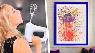 10 Fun Drawing Tricks For Everyone / Painting Hacks