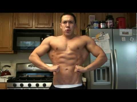 Teen posing update shirtless