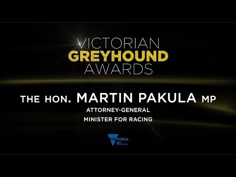 2015/16 Victorian Greyhound Awards: Martin Pakula