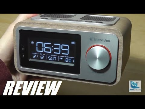 REVIEW: InstaBox i30 Bluetooth Radio Alarm Clock (Wood)