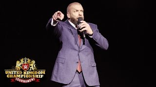 Triple H kicks off the beginning of a new empire: WWE United Kingdom Championship Tournament