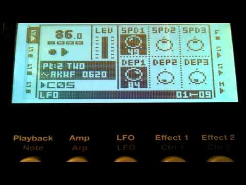 Octatrack Tip Video #4 : LFO's, part 1..