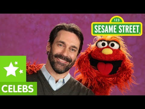 Sesame Street: Jon Hamm and Murray Get Emotional