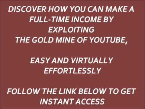 How To Make Money By Youtube,True And Honest Youtube Money Making Method $100/day