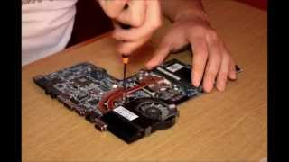 How to clean the fan HP Pavilion dv6 Cleaning FAN
