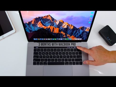 3 Months with the Macbook Pro with Touchbar!