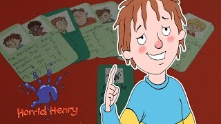 Horrid Henry: Make a Purple Hand Gang Membership Card