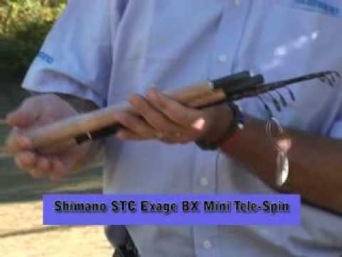 See Shimano's latest fishing tackle for the 2010 season