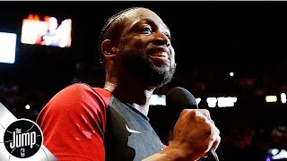 Don't get excited, Lakers fans: Dwyane Wade won't be coming out of retirement | The Jump