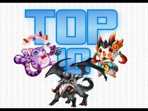 Top 10 Pets Grand Chase! #2013