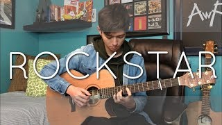 Download Lagu Post Malone - rockstar ft. 21 Savage - Cover (fingerstyle guitar) Gratis STAFABAND