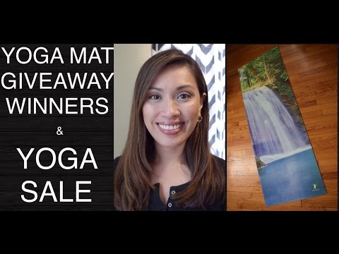 Yoga Upload VLOG - Yoga Mat Giveaway Winners and Online Yoga Sale