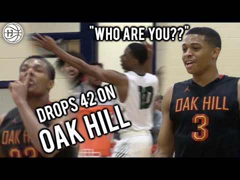 #2 RANKED OAK HILL GETS ANGRY! LOCAL KID DROPS 42 Points on 2 McDonalds ALL AMERICANS!!