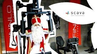 De Sint test de Scava fitness afdeling