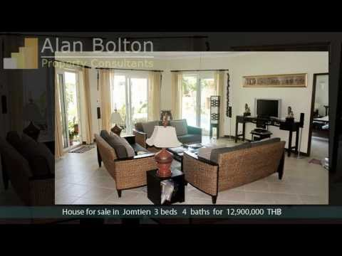 House for sale in Jomtien for 12,900,000 TH฿