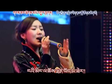 New Tibetan Song_Tibetan soul / spirit _Tsewang Lhamo Music Videos