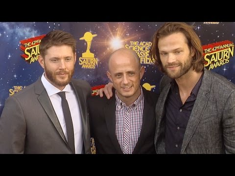 Jensen Ackles & Jared Padalecki 42nd Annual Saturn Awards Red Carpet #Supernatural
