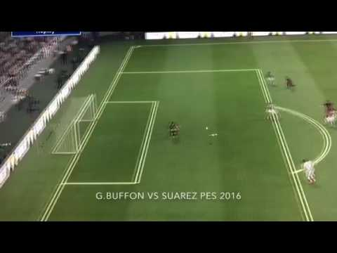 2 amazing saves from Buffon on pes 2016
