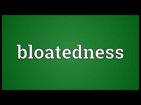 Header of bloatedness