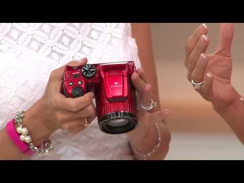 Fujifilm FinePix S4800 16 MP / 30X Zoom Digital Camera with Nancy Hornback