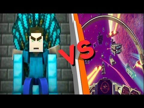 Minecraft VS No Man's Sky - Кто Кого больше?