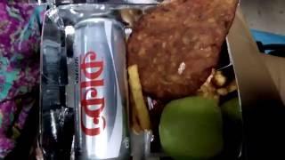 Unpacking Sonar Bangla express Train Meal Box: The new Train : সোনার বাংলা ট্রেইন খাবার বক্স