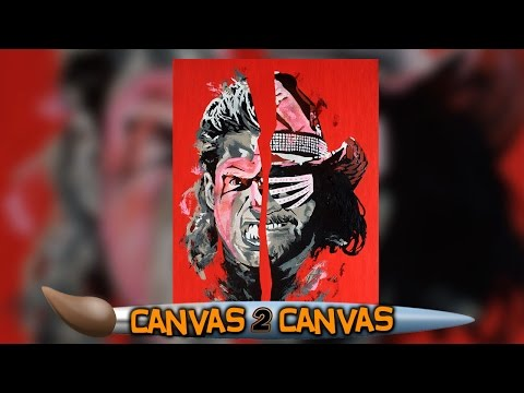 "Ultimate Warrior & ""The Macho Man"" collide on the canvas: WWE Canvas 2 Canvas"