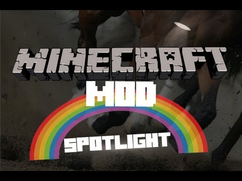 Minecraft - Simply Horses Mod Spotlight!