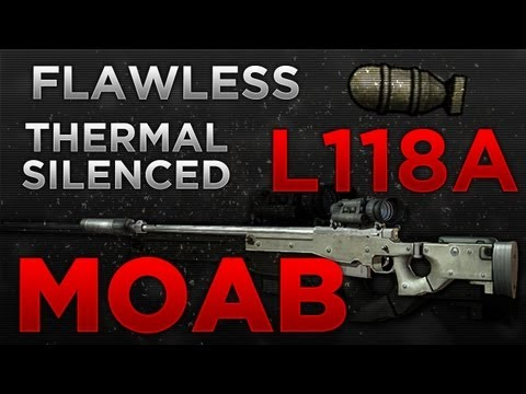 MW3: Flawless L118a Thermal Silenced MOAB!