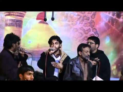 Hassan Sadiq Noha Part-1 (shab Baidari 2012 Anjuman Masoomia Wah Cantt) video