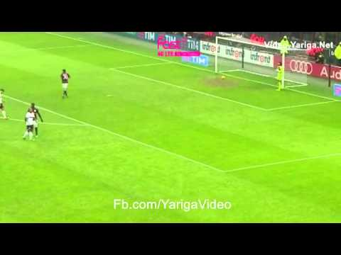 AC Milan 2 - 0 Genoa Keisuke Honda 14/2/2016