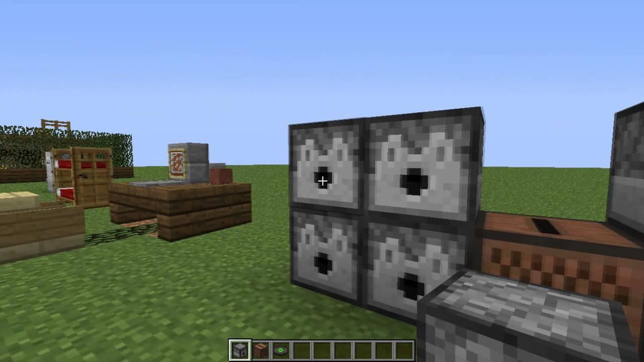 Minecraft decoraciones para una casa moderna youtube for Decoraciones para casas
