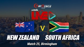 Cricbuzz LIVE: Match 25, New Zealand v South Africa, Pre-match show
