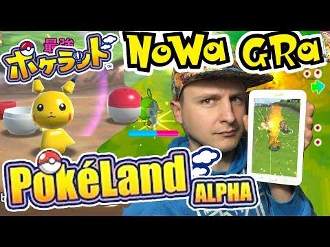 POKEMON NOWA GRA POKELAND NA TELEFON! PokéLand Gameplay (Android)