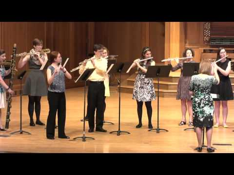 Christmas Concerto (A. Corelli) - Lawrence University Flute Ensemble - 05.15.16