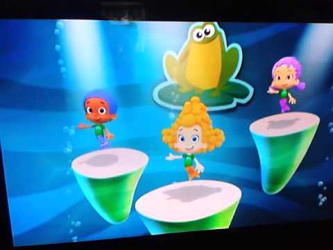 Bubble Guppies - Frog Dance video
