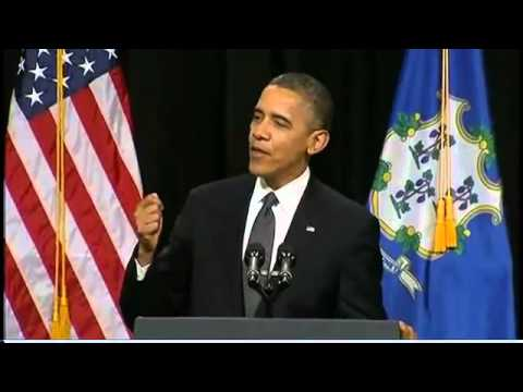 President Barack Obama's FULL Newtown Speech
