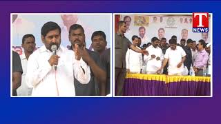 Minister Jagadish Reddy Releases Water From Dindi Project  live Telugu
