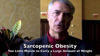 Too Fat for Your Bones To Carry - Sarcopenic Obesity; Dr. Mache Seibel interview Dr. Neil Binkley