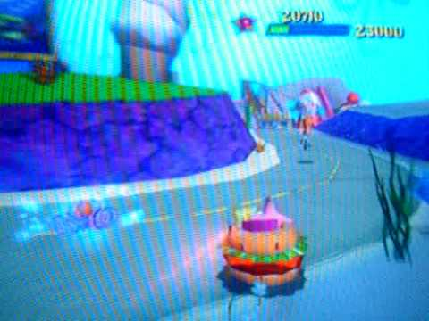 SpongeBob Movie Game: Level 13: Sundae Driving