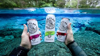 Found White Claw Drinks While Scuba Diving in the River! (Ginnie Springs)