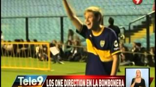 Los One Direction en La Bombonera