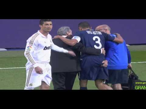 Cristiano Ronaldo watch Butt Grope Wellington