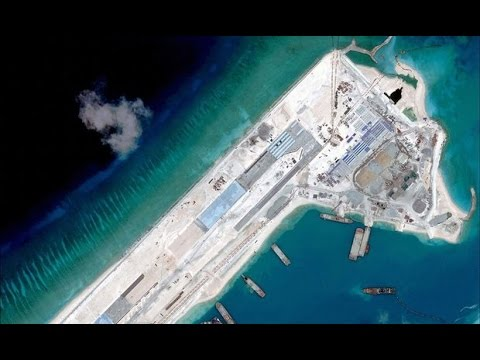 U.S. protests Chinese action in South China Sea