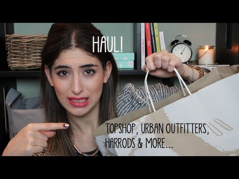Haul: Topshop, Urban Outfitters, MAC & more | What I Heart Today