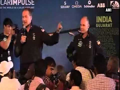 Pilots of Solar Impulse 2 laud Ahmedabad for role in plane's building