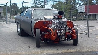 1976 Chevrolet Vega Big Block Pro Street Dragster Build Project