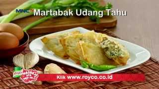 Resep Royco - Martabak Udang Tahu
