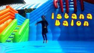Permainan Anak Istana Balon Kolam Air - Asiknya Bermain di WaterPark Gofun   Cover BABY SHARK DANCE
