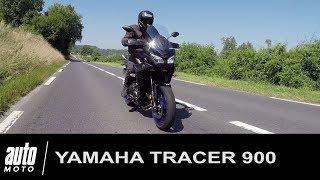 2018 YAMAHA TRACER 900 ESSAI POV Auto-Moto.com